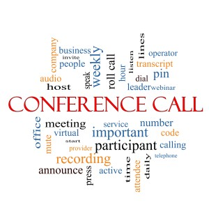business phone system conference call