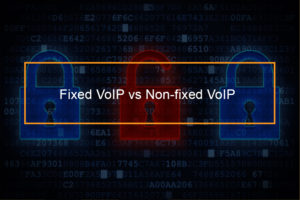 fixed and non-fixed VoIP
